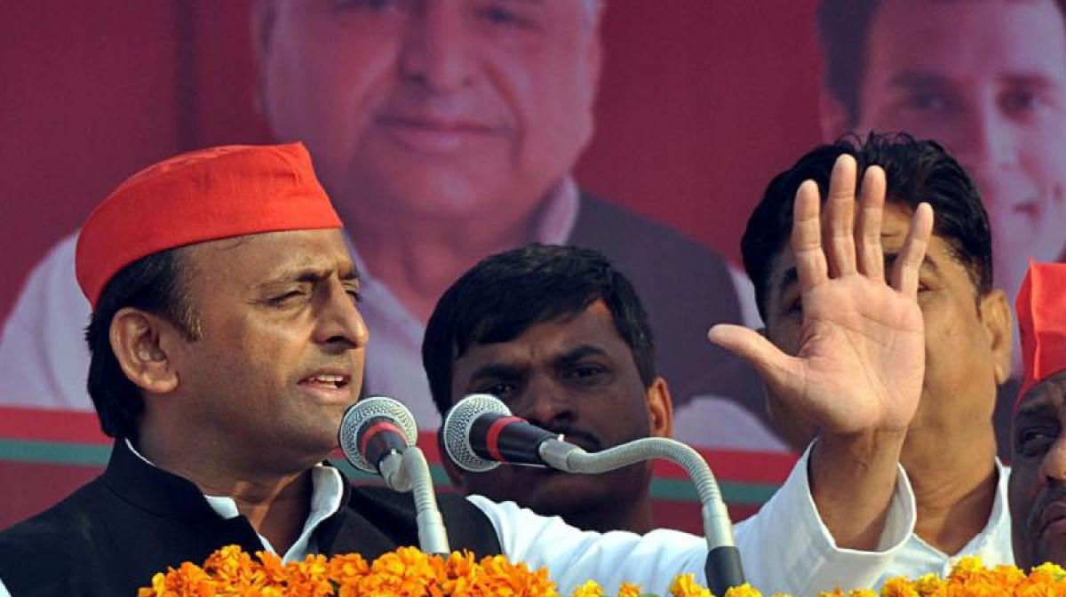 Akhilesh has conceded defeat by favouring tie-up with BSP: BJP