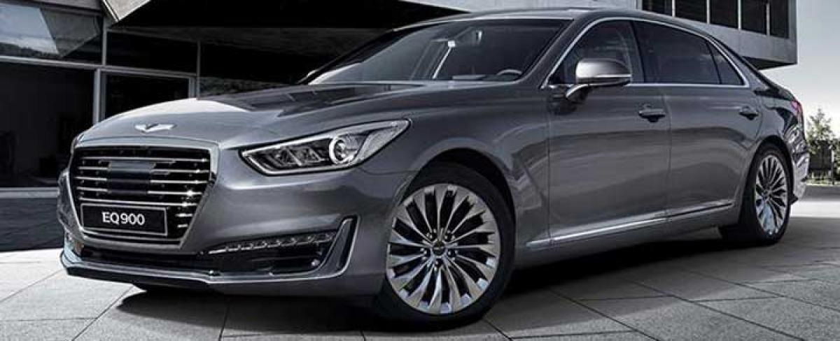 Six models under Hyundai's Genesis