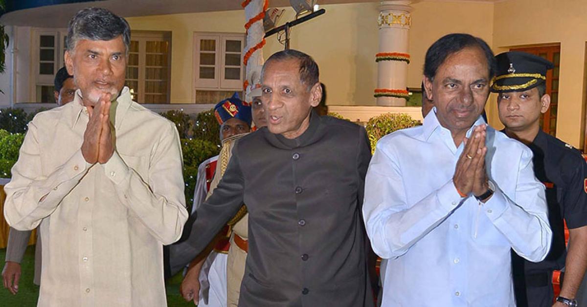Guv may call for joint meet of KCR, Naidu