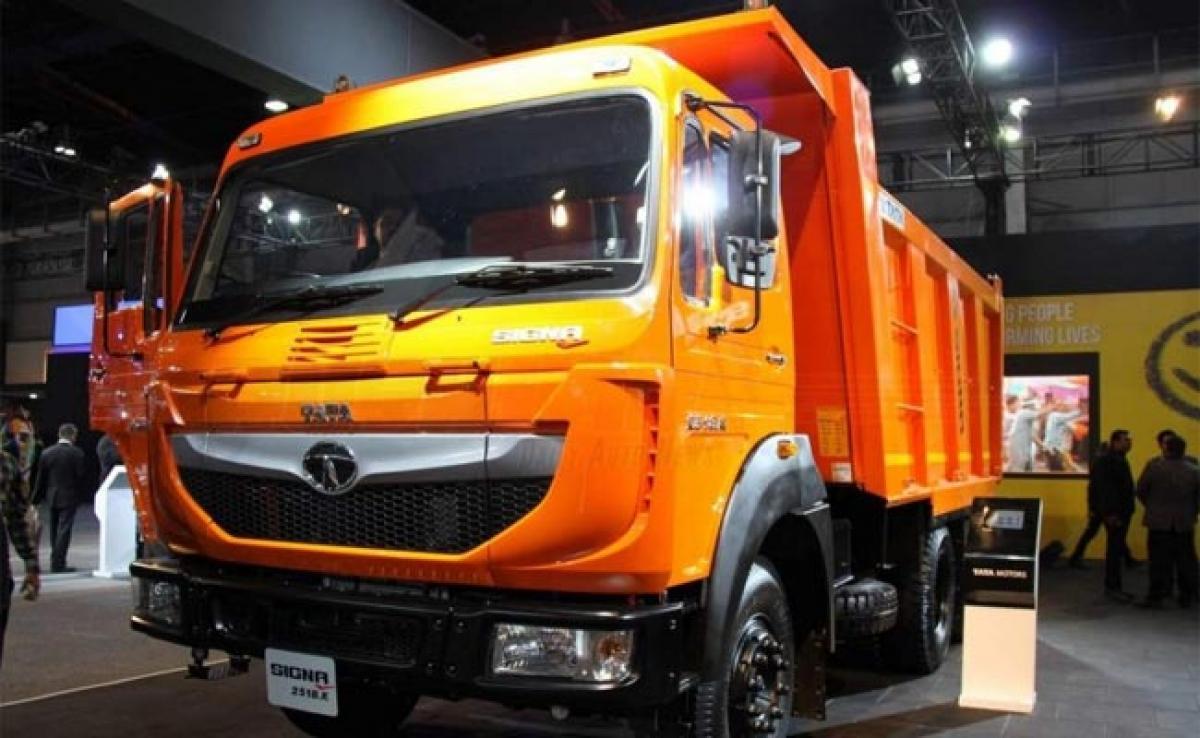 Tata Signa range of Commercial Vehicles CVs at Auto Expo 2016