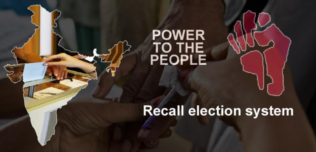 Does India need a recall election system in politics?