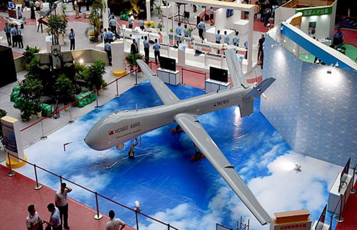 Taiwan unveils its biggest ever military drone prototype
