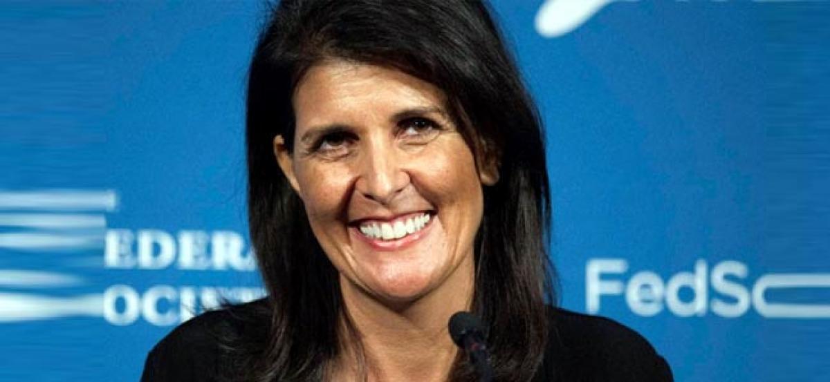 Nikki Haley doing an awfully good job, Trump praises Indian-American US Ambassador