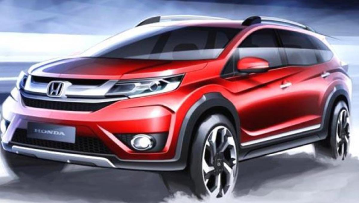 Honda BR-V likely to have better interiors than Mobilio