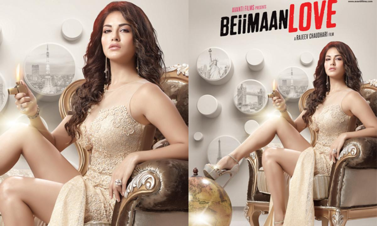 Sunny Leone's BEIIMAAN LOVE on Aug 5th