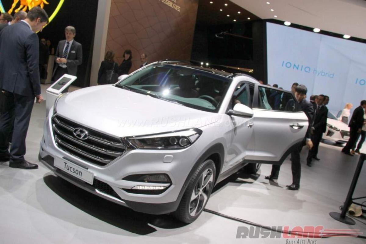 Hyundai Tucson 1.7L 7-speed DCT – 2016 Geneva Motor Show LIVE