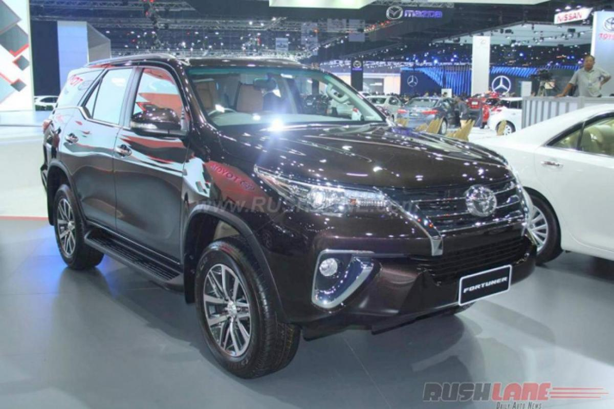 A peek into Toyota Fortuner features, price at Bangkok Motor Show 2016