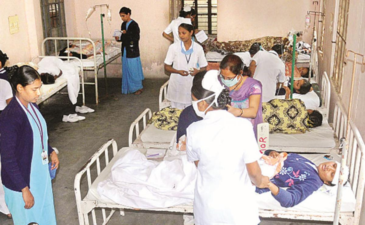 30 nursing students fall ill due to food poisoning