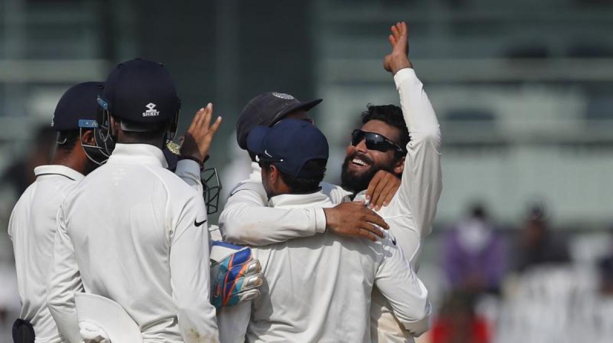 Jadejas seven wicket haul helps India seal 4-0 win against England