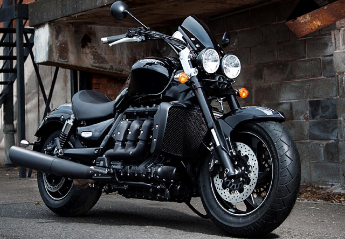 Triumph Rocket X launched