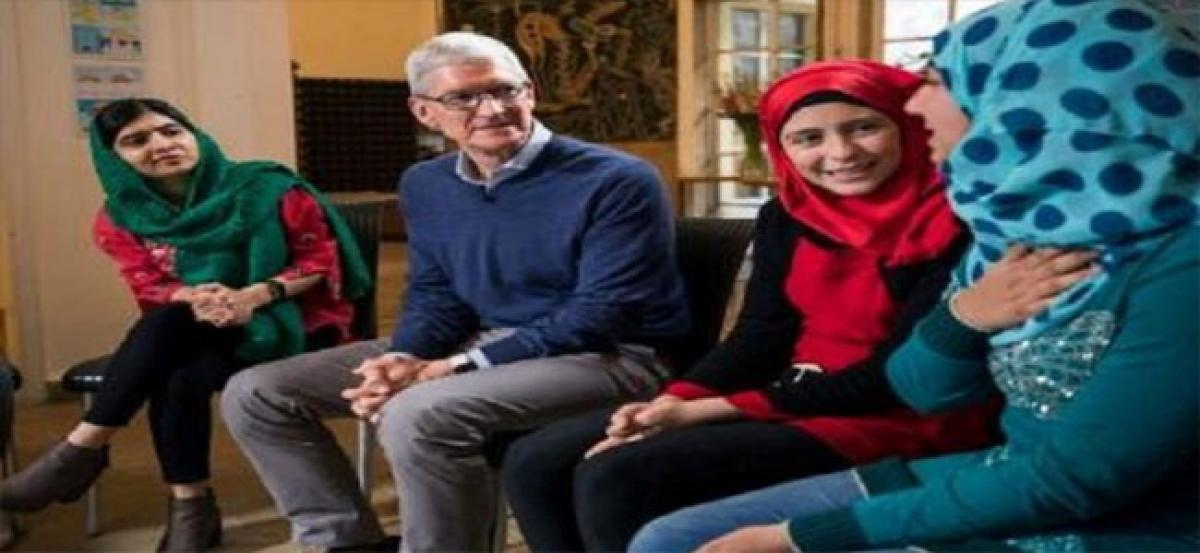 Apple joins Malala Fund to empower girls in India