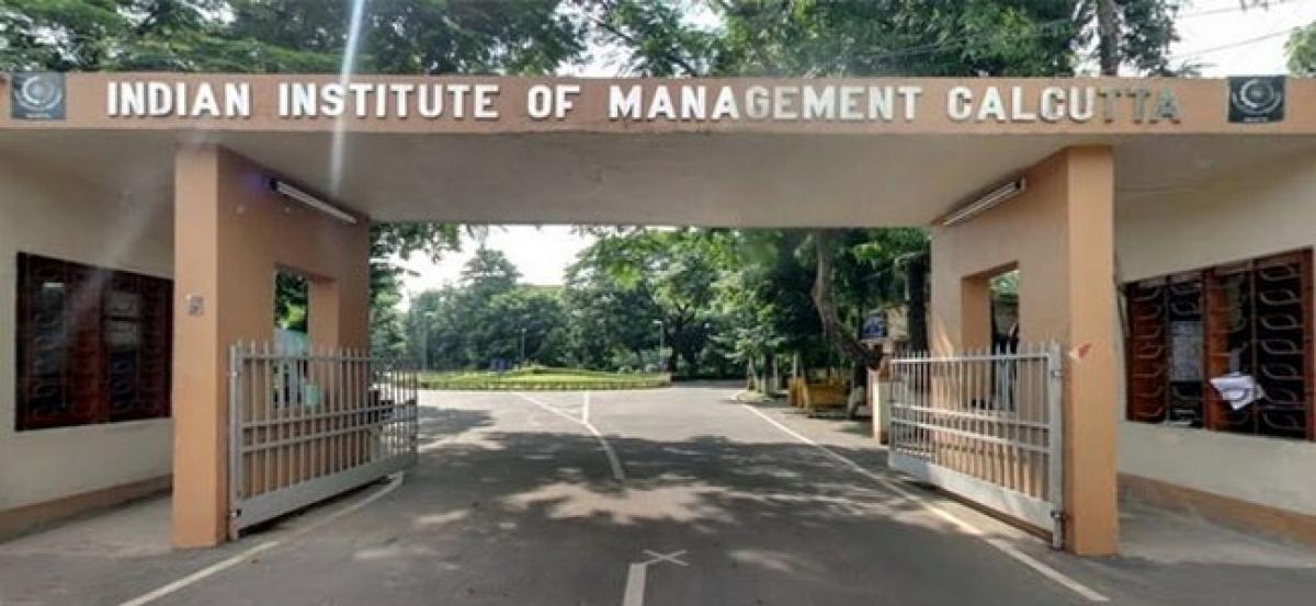 IIM Calcutta records 100% placement
