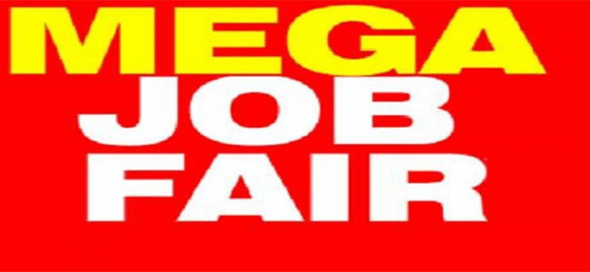 Job mela at Vishwa Vishwani today
