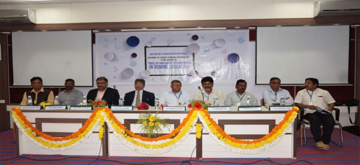 Seminar on 'Emerging Tech in School Edn'