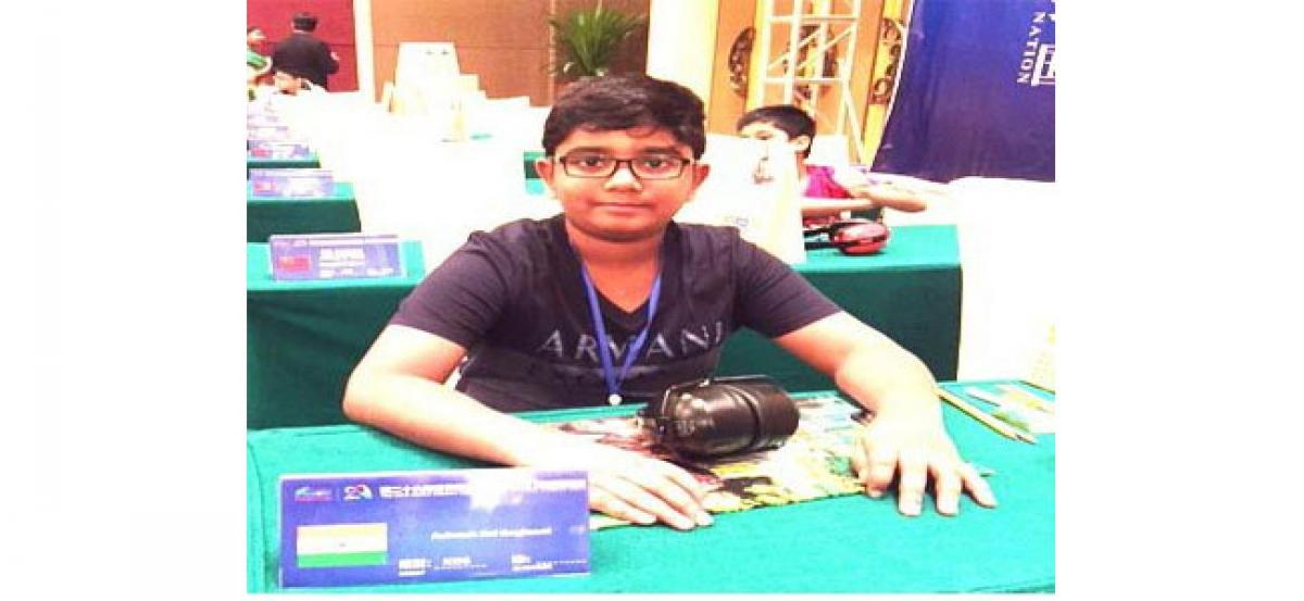 Oakridge student bags 4th position at world memory meet