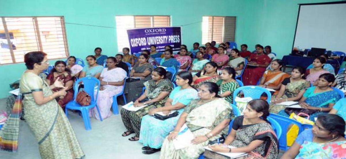 OUP organises  workshop