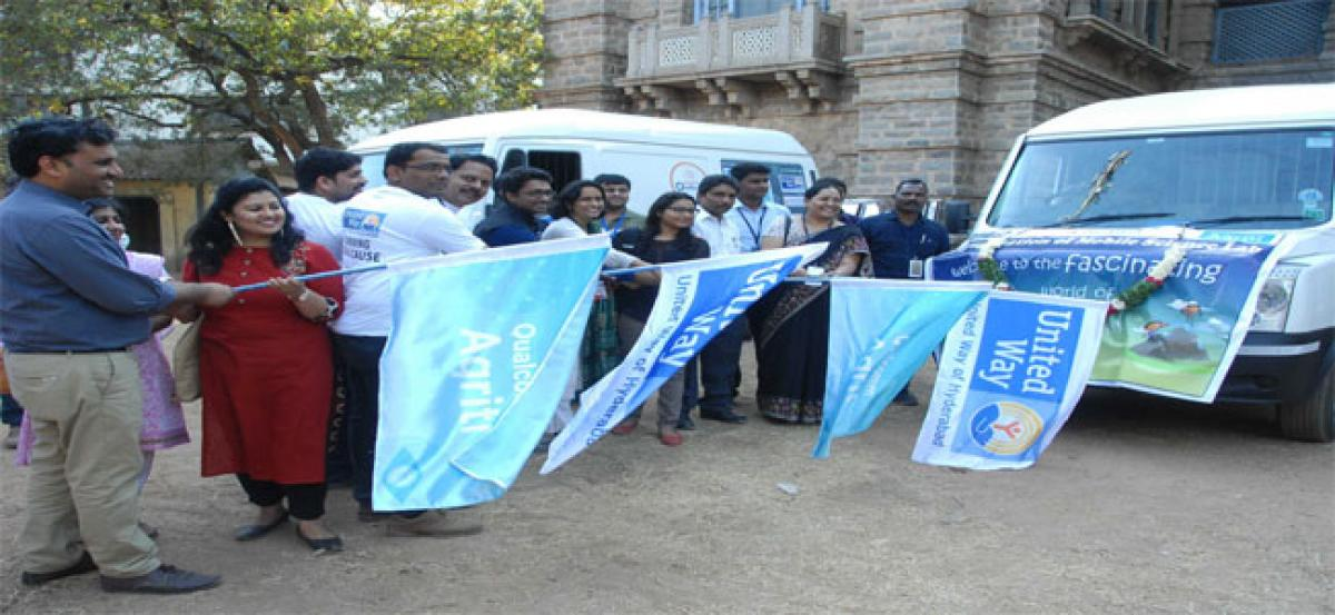 Mobile science vans to educate 16,000 govt school students