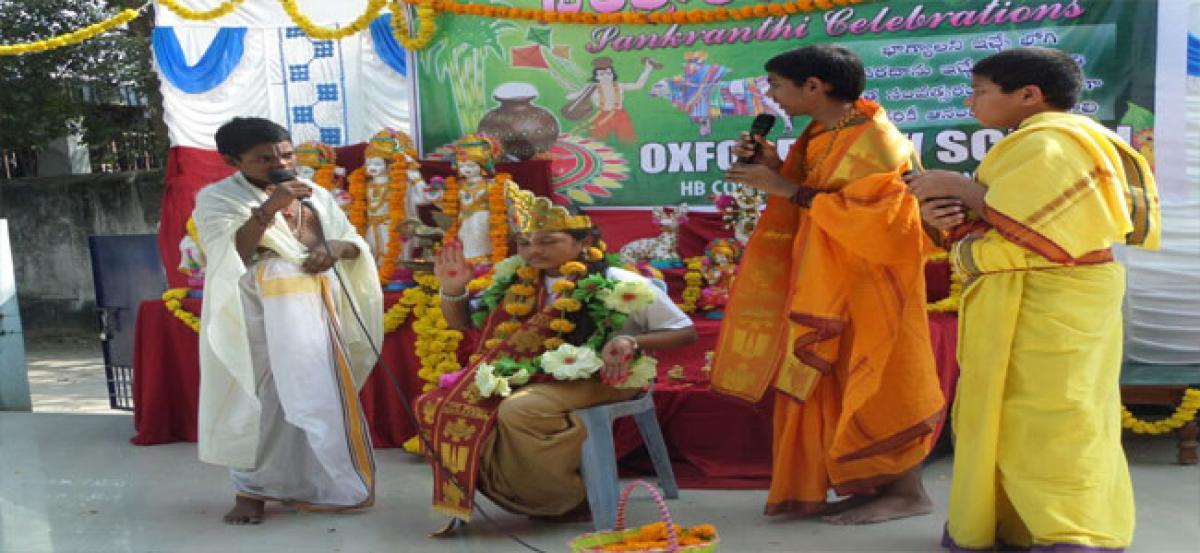Oxford celebrates Sankranti
