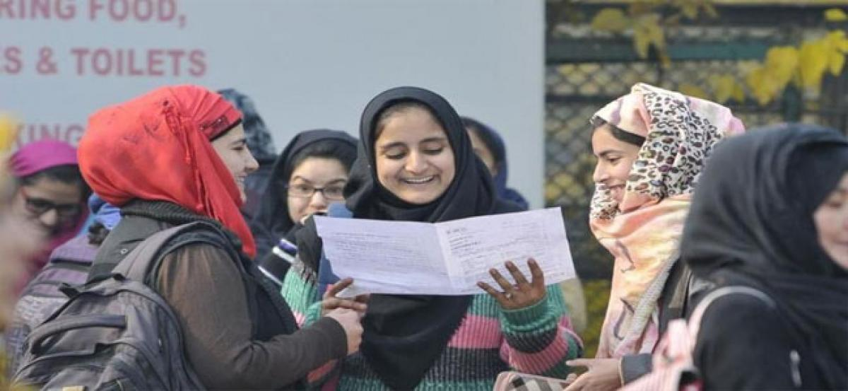 Girls outshine boys in JK HSS exam