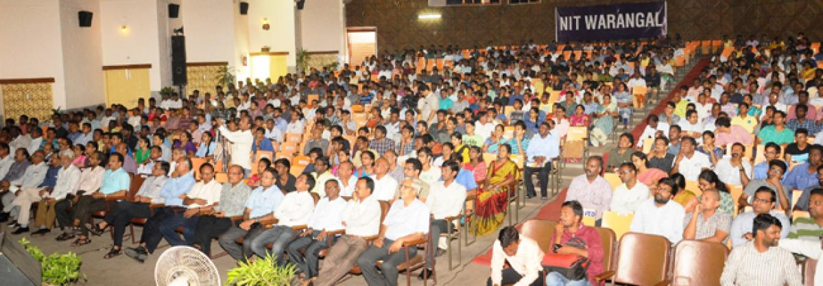 NIT Warangal awareness meet a big success