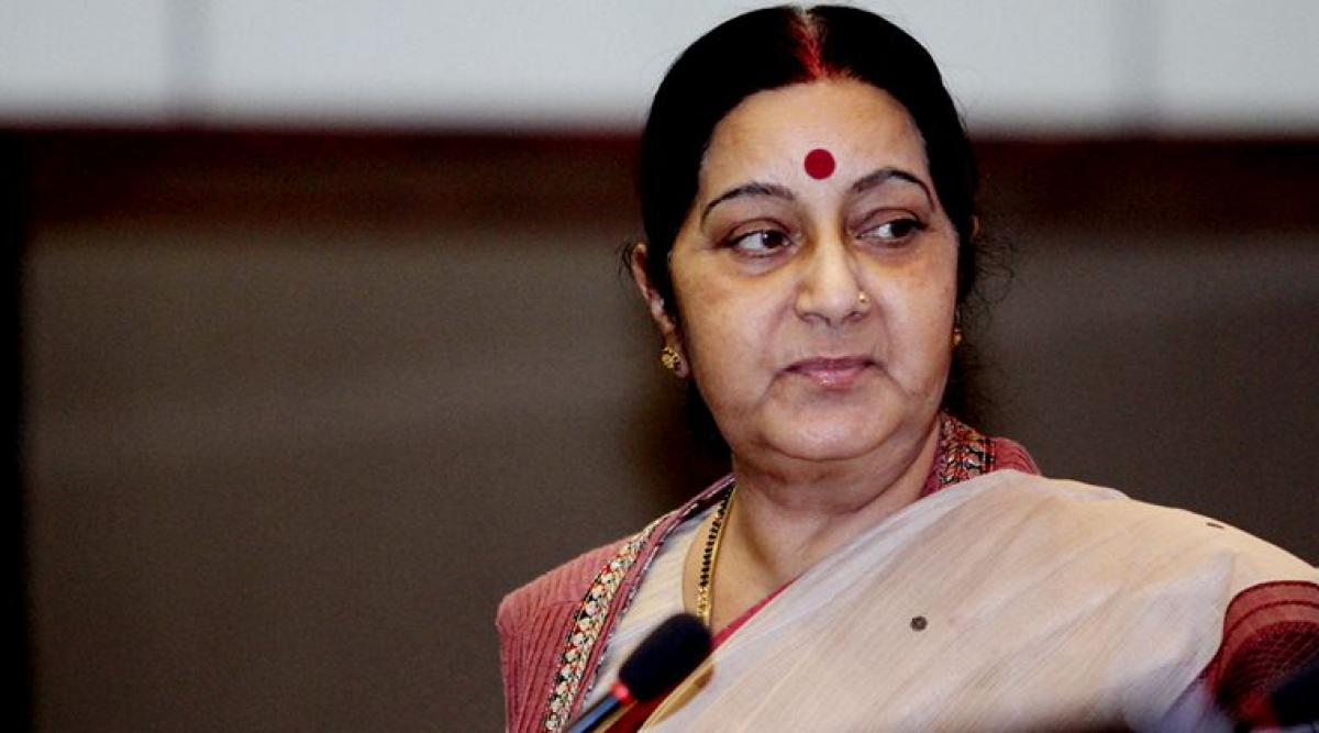 Sushma Swaraj speaks to father of Sikh man shot in US