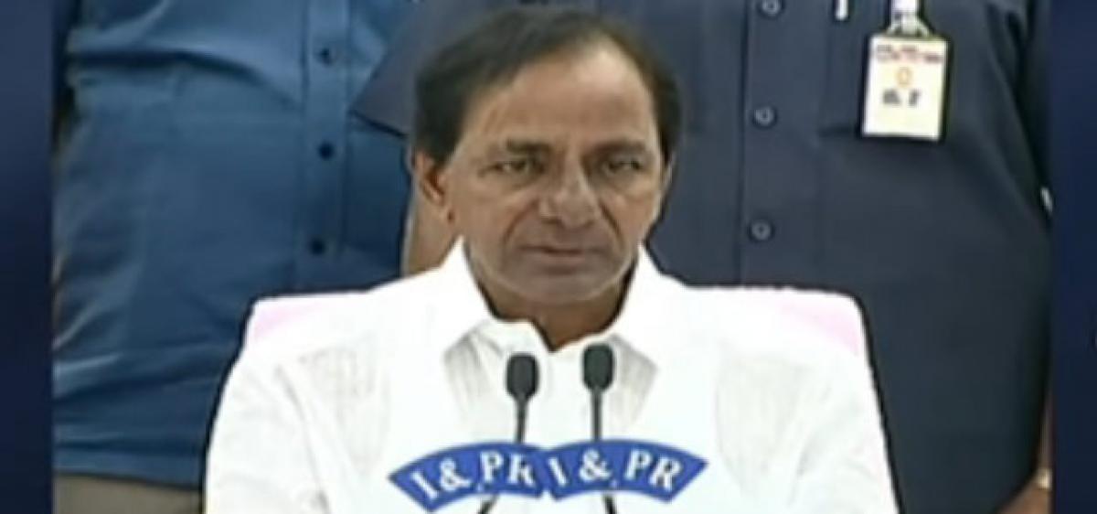 KCR nails BJP chief's lies