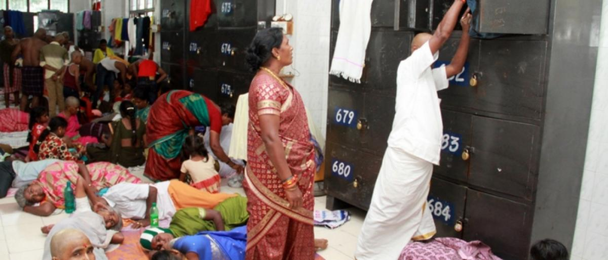 Child safety at stake in Tirumala