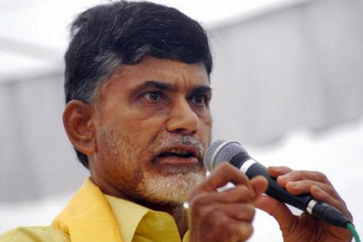 Chandrababu: Farmers' issues will be resolved by river-linking