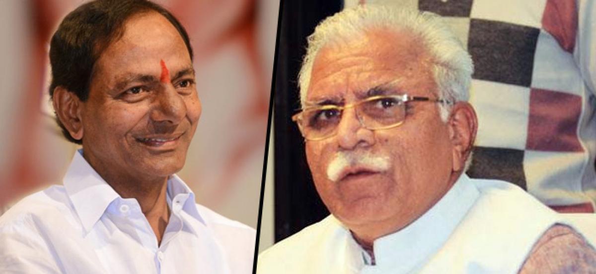 Telangana, Haryana partner for One India-Great India this year
