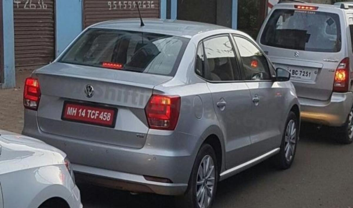 Spotted: Volkswagen Ameo Diesel Caught On Camera