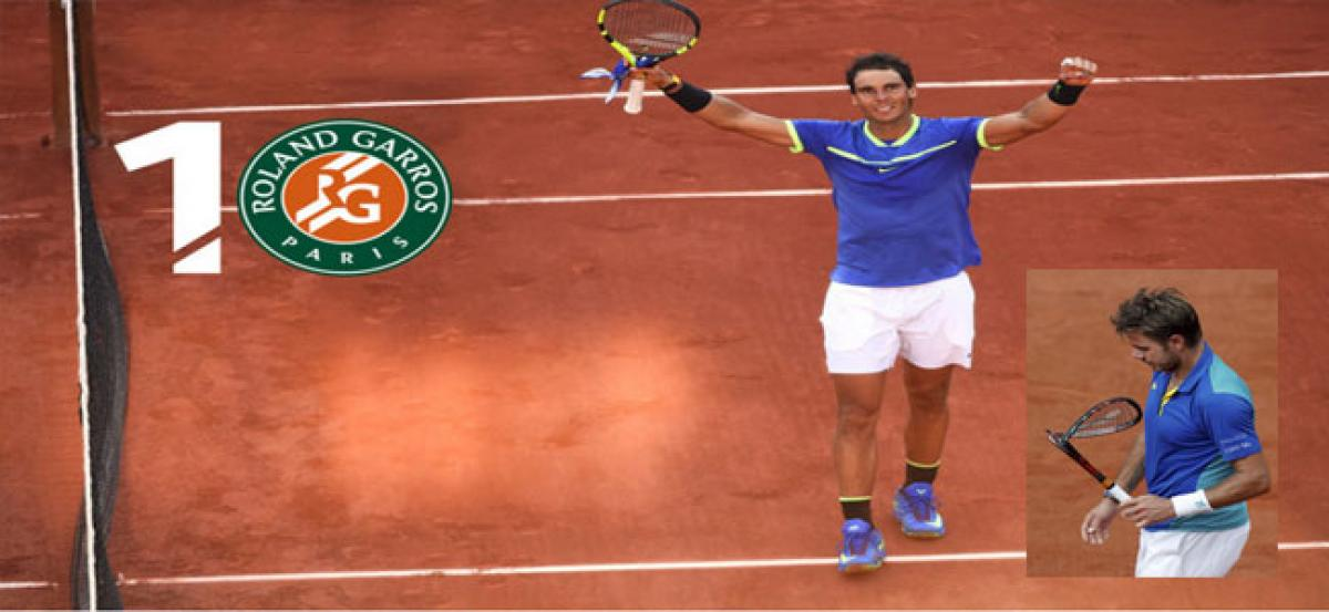 Clay King  Rafael Nadal reclaims throne