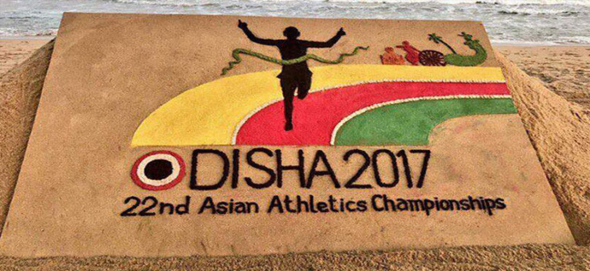 Patnaik unveils Asian Athletics Championships mascot Olly