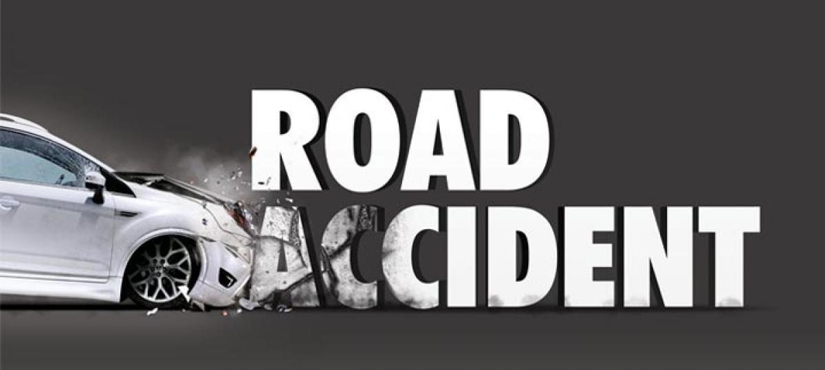 Two die as lorry hits bike