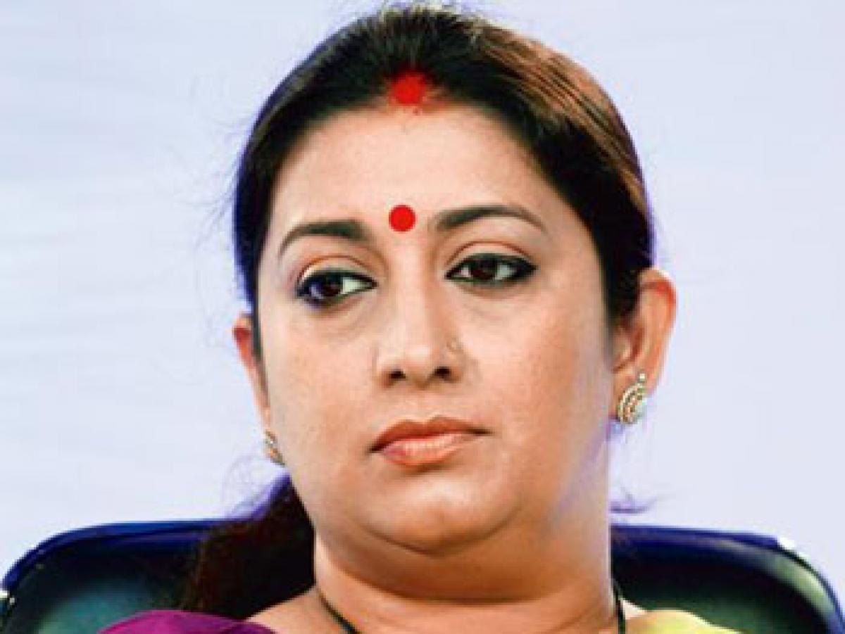 Court directive set to give sleepless nights to Irani