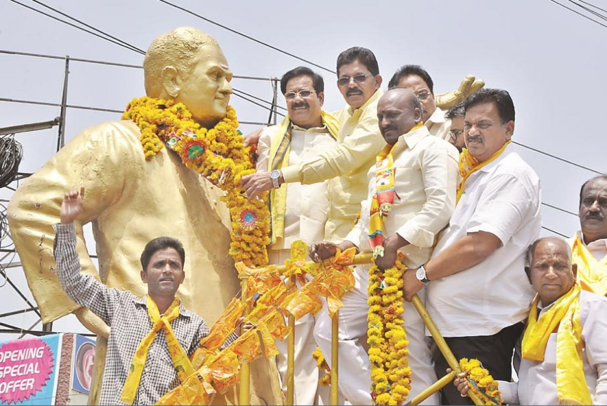 TDP's 35th formation day in Adilabad