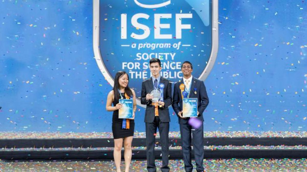 Intel Young Scientist Award for Indian American teen
