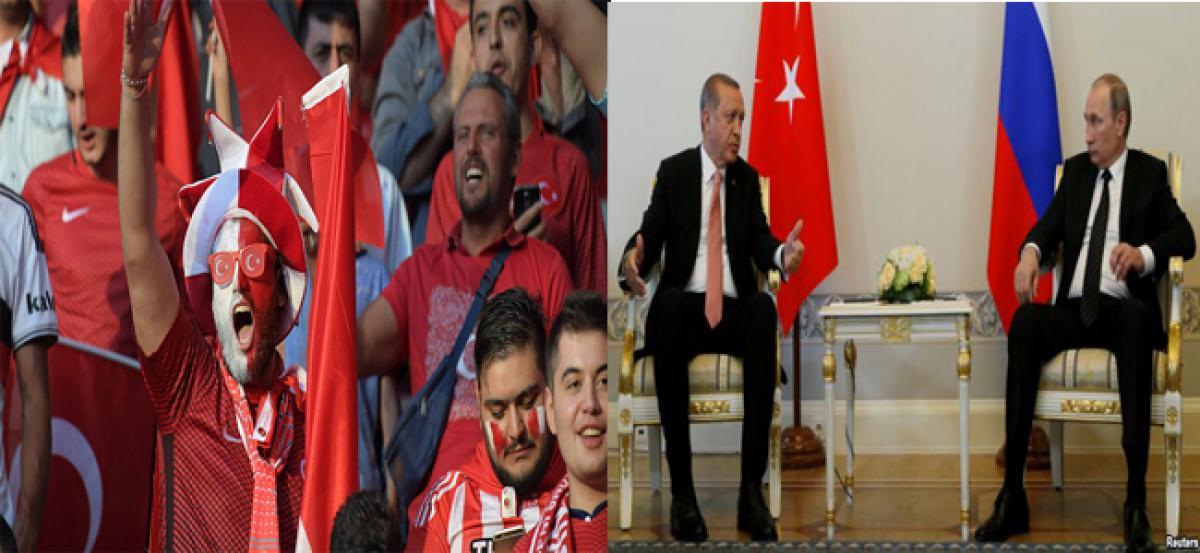 Putin to attend friendly football match in Turkey