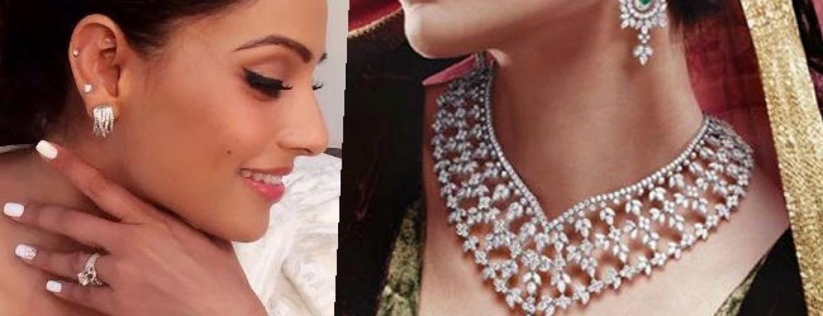 Diamonds add sparkle to Bipashas marriage glow
