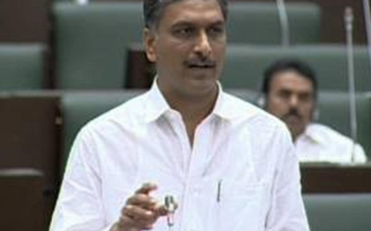 Harish Rao clarifies on the pending projects