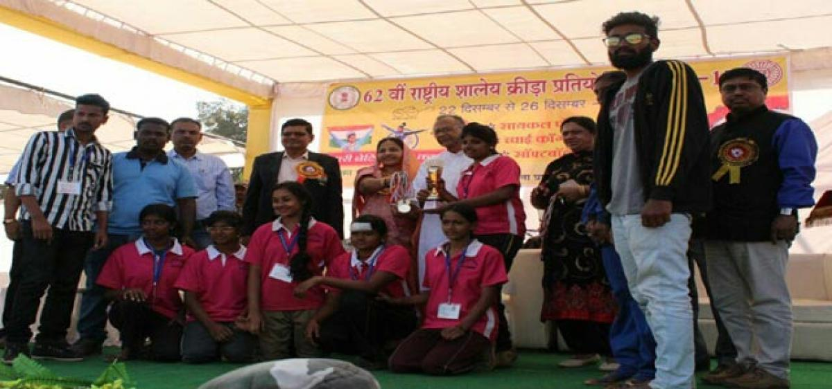 Andhra Pradesh Cycle Polo teams excel in School Games Nationals