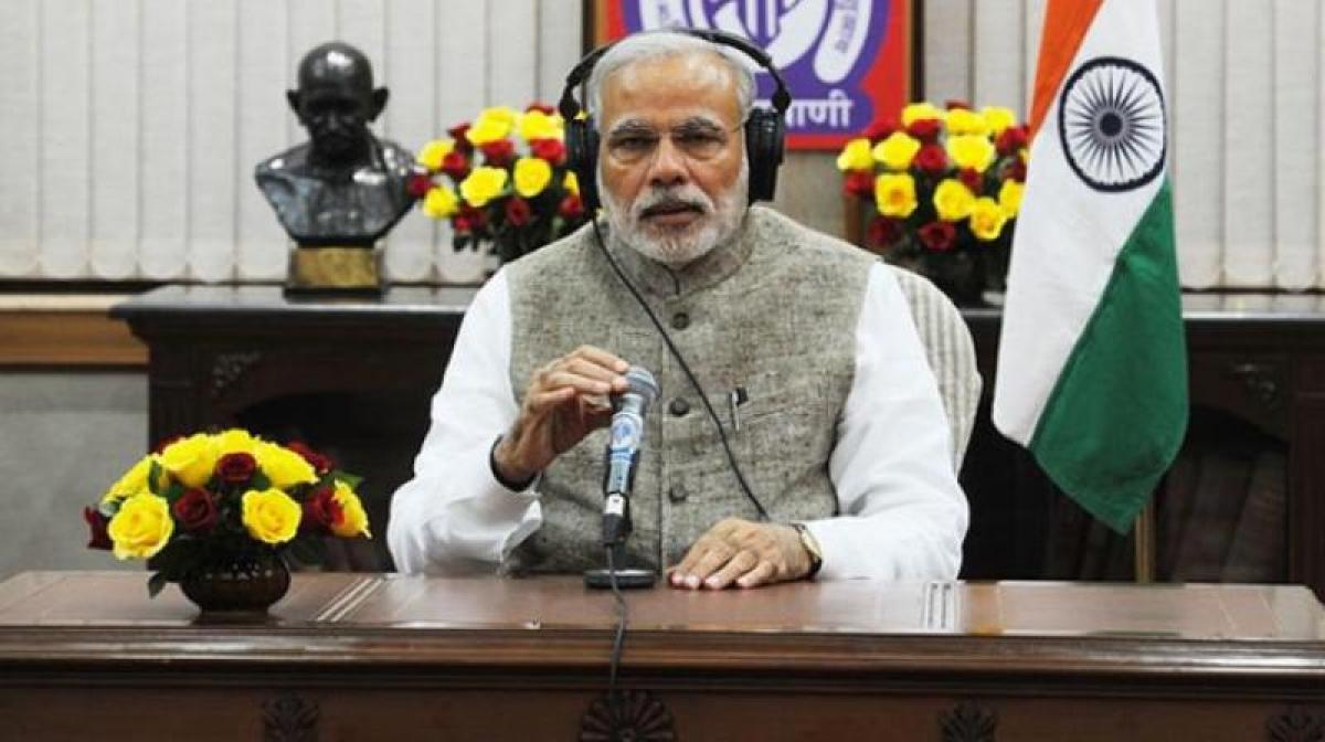 Modi's Mann ki Baat gets green signal from EC for Sunday slot
