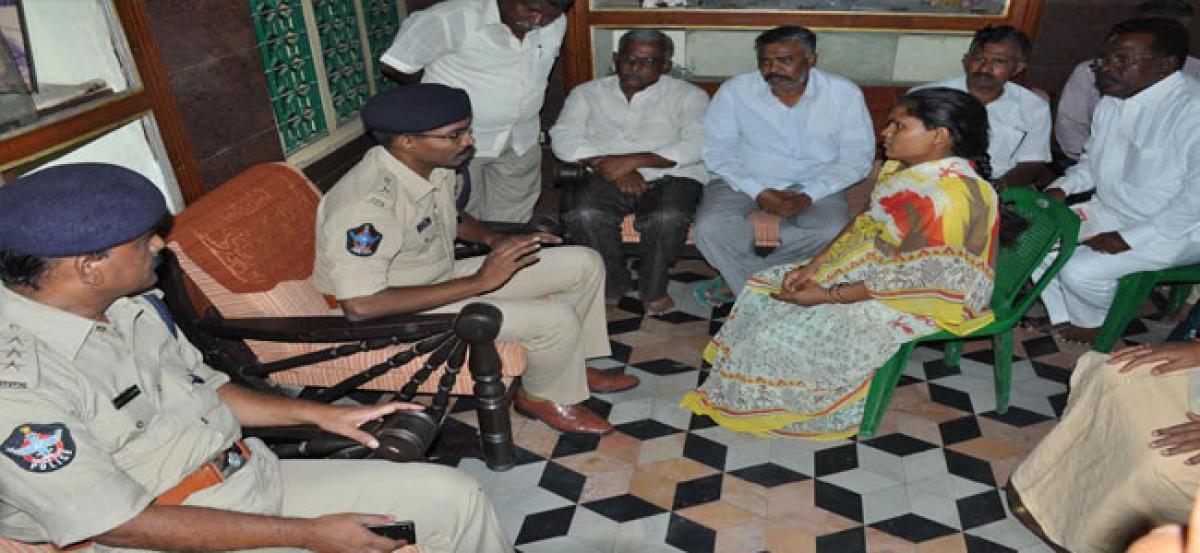 Ensure peace in faction hit villages