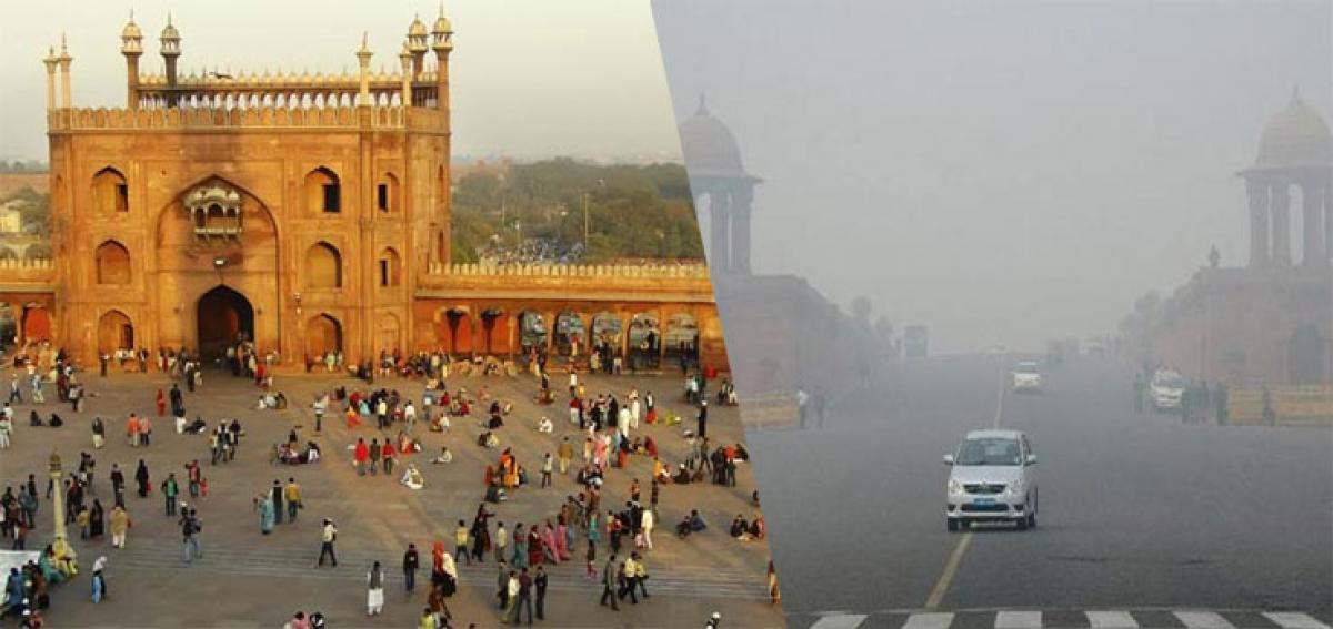 Sunny Monday in Delhi, Tuesday morning to be foggy