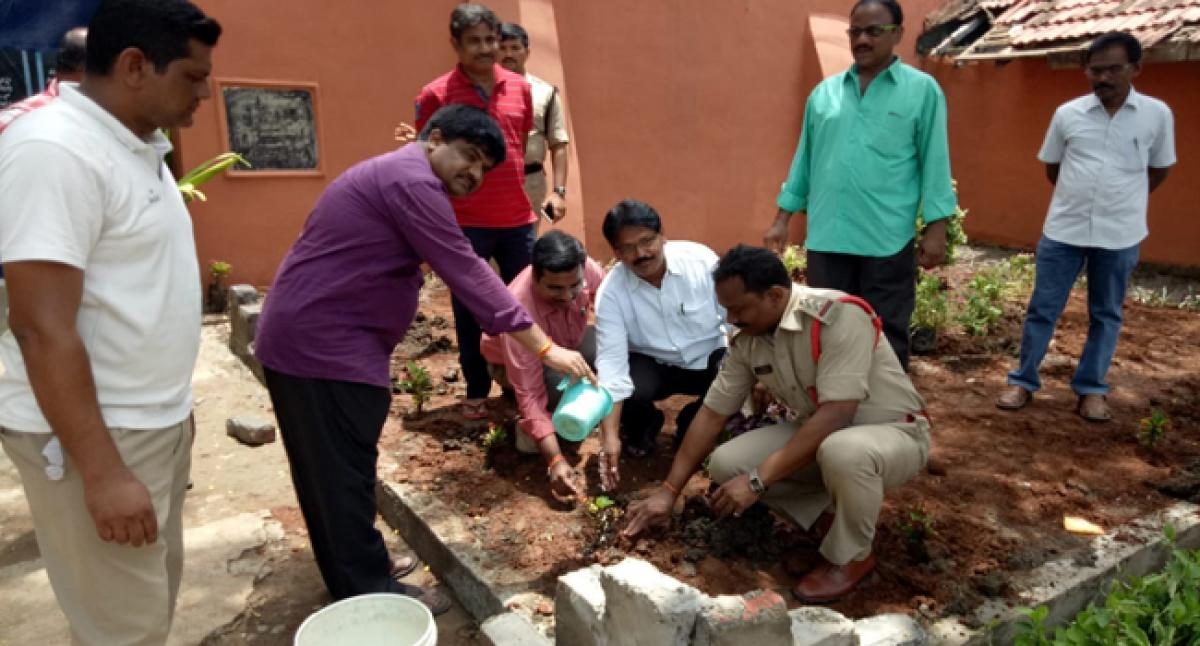 Bhadrachalam Sub-jail launches green drive
