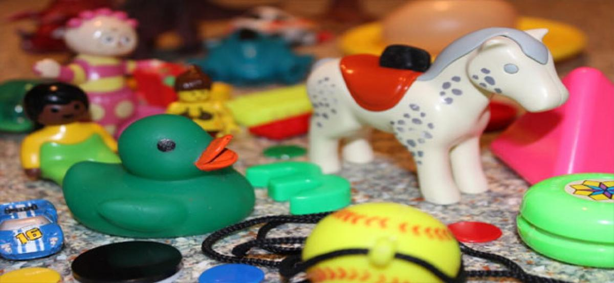 Second-hand plastic toys could pose health risks to kids: Study