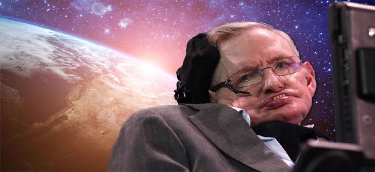 Nothing was around before origin of universe: Stephen Hawking