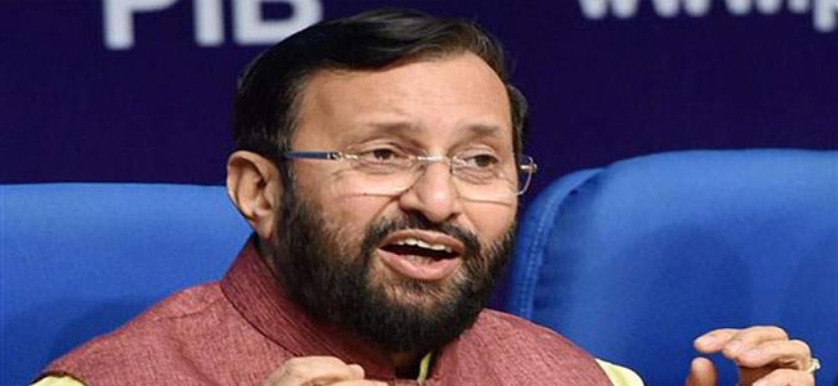 Innovation Cell to be set up in HRD Ministry: Prakash Javadekar
