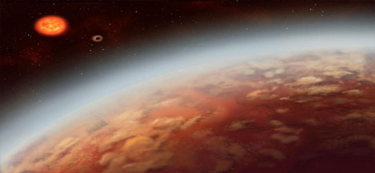 Astronomers detect water in Saturn-sized exoplanet