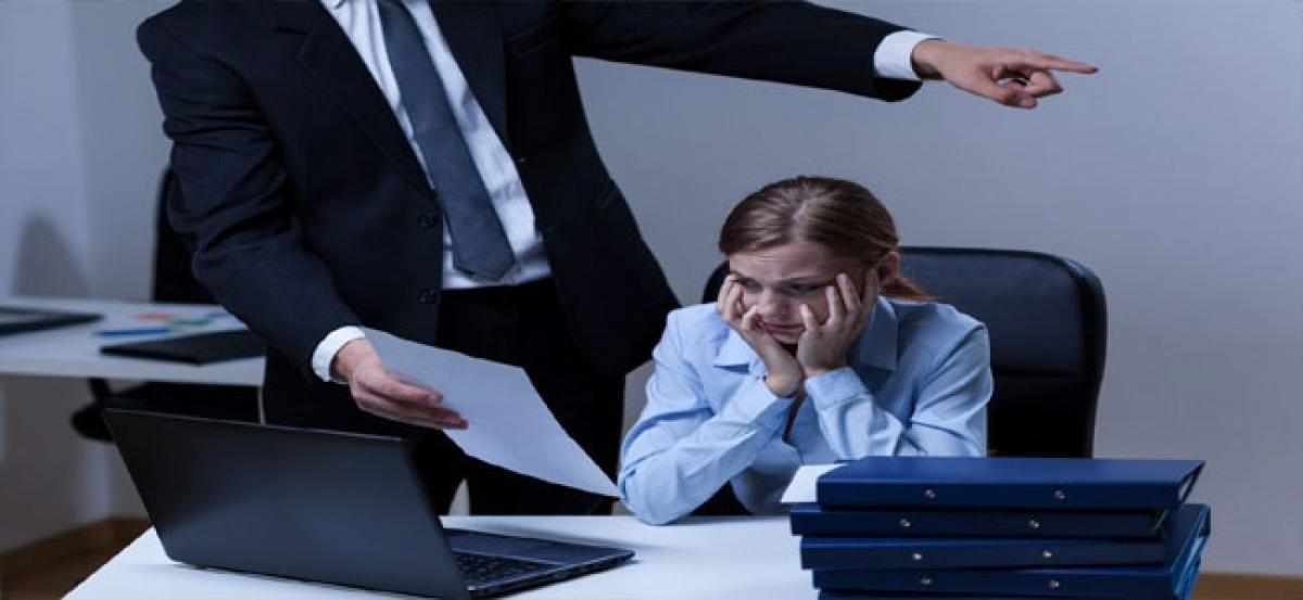 Bosses with mood swings make workers most anxious
