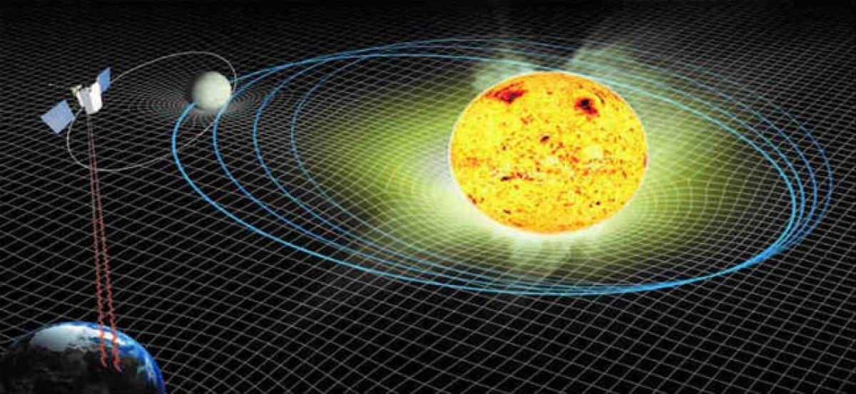 Changes in Mercury's orbit unveil ageing Sun